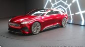 Kia Proceed Concept front three quarters left at IAA 2017