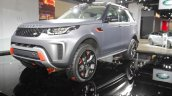 Land Rover Discovery SVX front three quarters right