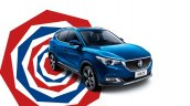 MG ZS SUV India launch in 2019 front three quarters