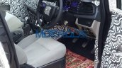 Mahindra U321 interior spy shot