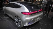 Mercedes-Benz Concept EQA rear quarter at the IAA 2017