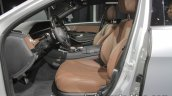 Mercedes-Benz S 560 e front seats at IAA 2017