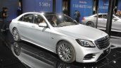 Mercedes-Benz S 560 e front three quarters at IAA 2017