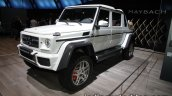 Mercedes-Maybach G 650 Landaulet front three quarters at the IAA 2017
