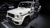 Mercedes-Maybach G 650 Landaulet front three quarters left side at the IAA 2017