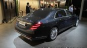 Mercedes-Maybach S-Class Fit & Healthy concept rear three quarters