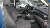 Mercedes V-Class RISE edition front seats