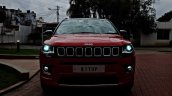 Modified Jeep Compass LED headlights
