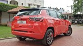 Modified Jeep Compass rear three quarters