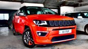 Modified Jeep Compass right front three quarters