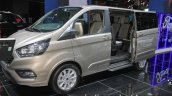 New Ford Tourneo Custom front three quarters at IAA 2017