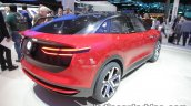 New VW I.D. CROZZ concept rear three quarters at IAA 2017