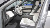 Range Rover Velar First Edition front seats at IAA 2017