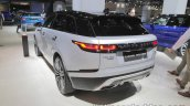 Range Rover Velar First Edition rear three quarters at IAA 2017