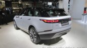 Range Rover Velar rear three quarters at IAA 2017