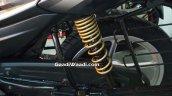 Refreshed Bajaj Platina Comfortec rear suspension
