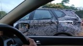 Renault Captur Spied rear quarter glass