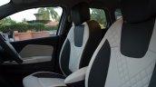 Renault Captur front seat