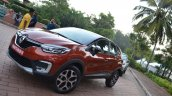 Renault Captur front three quarters angle