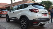 Renault Captur left rear three quarters