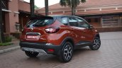 Renault Captur rear three quarters