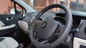 Renault Captur steering wheel