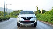 Renault Captur test drive review action shot front