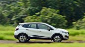 Renault Captur test drive review action shot side view