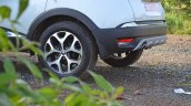 Renault Captur test drive review alloy wheel rear