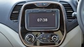 Renault Captur test drive review centre console