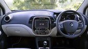 Renault Captur test drive review dashboard