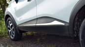 Renault Captur test drive review door sill