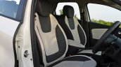 Renault Captur test drive review front seats