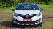 Renault Captur test drive review front view