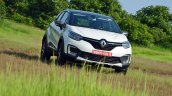 Renault Captur test drive review front