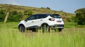 Renault Captur test drive review left rear three quarters