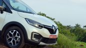 Renault Captur test drive review nose