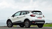 Renault Captur test drive review rear three quarters (2)