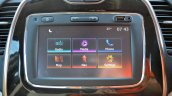 Renault Captur test drive review touchscreen
