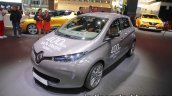 Renault Zoe front three quarters at the IAA 2017