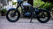 Royal Enfield Classic 500 RE-500 Basic by Rajputana Customs left side