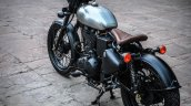 Royal Enfield Classic 500 RE-500 Basic by Rajputana Customs rear left quarter