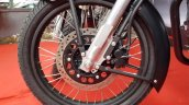 Royal Enfield Classic 500 Stealth Black Autobics front wheel
