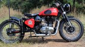 Royal Enfield Electra custom by Team DJ customs left side
