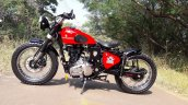 Royal Enfield Electra custom by Team DJ customs right side