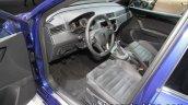 Seat Ibiza TGI interior dashboard at the IAA 2017