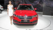 Skoda Karoq front showcased at IAA 2017