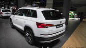 Skoda Kodiaq Scout rear three quarters at IAA 2017
