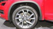 Skoda Kodiaq Sportline alloy wheel at IAA 2017