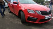 Skoda Octavia RS India front three quarters